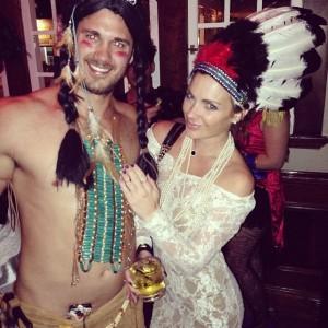 Had to wear the head dress. Halloween part 5 (Santa Monica)